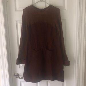 Free People oversized sweater dress! Worn once!